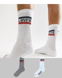 Levi's Retro Logo Socks 2 Pack