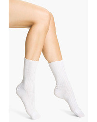 Scalloped pointelle socks medium 5745