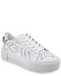 Tyler Star Perforated Leather Sneakers