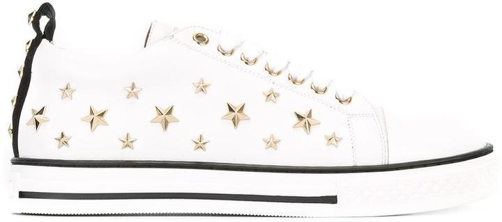 3b46e8e1fbb RED Valentino Stars Studded Sneakers, $495 | farfetch.com ...