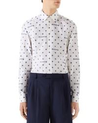 Gucci Star Print Woven Shirt