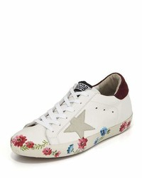 Golden Goose Deluxe Brand Golden Goose Superstar Hand Painted Low Top Sneaker