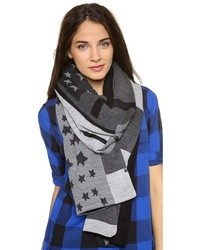 Stars striped scarf medium 8488