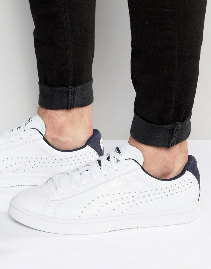 dedb401d0 Puma Court Star Sneakers, $73 | Asos | Lookastic.com