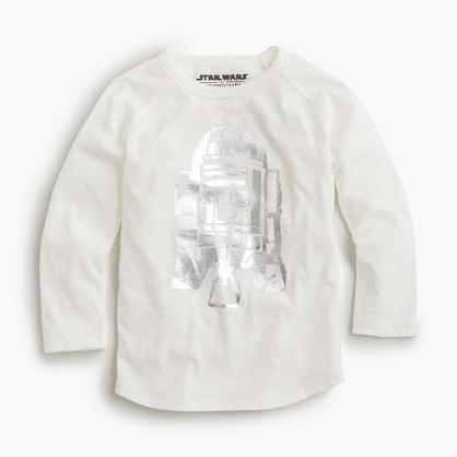 J.Crew Kids Star Warstm For Crewcuts Metallic R2 D2 T Shirt
