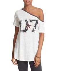 Free People Lucky Star One Shoulder Tee