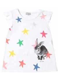 Paul Smith Stars Bunny Print Jersey T Shirt