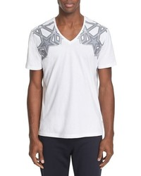 Versace Collection Star Graphic T Shirt