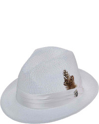 2cb48c4e17b39 ... Stacy Adams Dorfman Straw Pinch Front Fedora