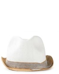 Brunello Cucinelli Embellished Straw Hat