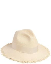 Federica Moretti Fringed Woven Panama Straw Hat