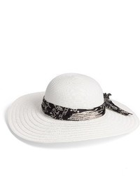 Floppy straw hat white medium 3944119