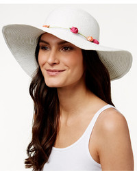 Collection XIIX Flower Band Shine Floppy Hat