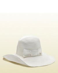 Gucci White Havana Hat