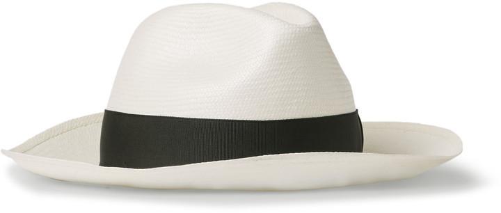 75f5227827afe3 Borsalino Straw Panama Hat, $295 | MR PORTER | Lookastic.com