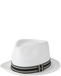 Original Penguin Stripe Straw Fedora