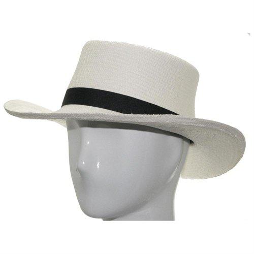 e1812a1cc2f ... Ultrafino Panama Hat Gambler Woods Panama White Straw Hat Golf Club 7