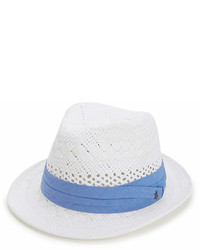 Original Penguin Vented Straw Fedora