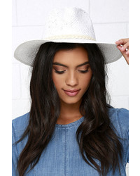 Billabong Whitesand Vacay Ivory Straw Hat