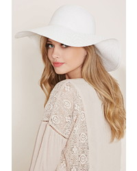 b335916dfbc Women s White Straw Hats by Forever 21