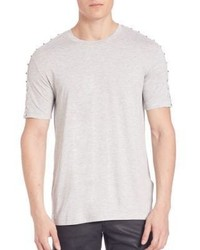 Versace Collection Studded Cotton Tee