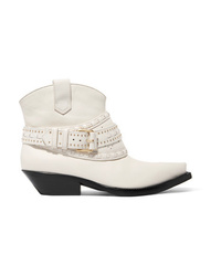 Zimmermann Studded Leather Ankle Boots