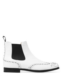 Ketsby studded leather chelsea boots white medium 3700132