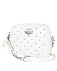 BETSEYVILLE Quilted Studded Crossbody Bag