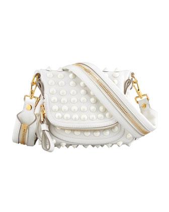 a3c885db1bb2 ... Tom Ford Jennifer Mini Studded Crossbody Bag White