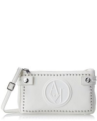c075f124a316 Armani Jeans Rj Small Patent Crossbody With Logo Bag Out of stock · Armani  Jeans Zy Studded Cross Body