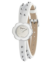 Salvatore Ferragamo Fiore Leather Watch