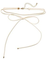 H&M Choker Necklace With Bow