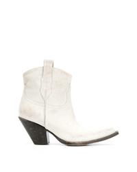 Maison Margiela Mid Calf Western Boots
