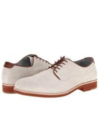 Johnston & Murphy Ellington Plain Toe Lace Up Casual Shoes White Suede