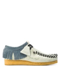 Palm Angels Fringed Lace Up Shoes