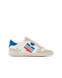 Isabel Marant Colour Block Logo Sneakers