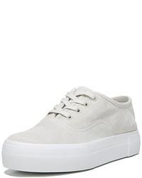 Vince Copley Suede Platform Low Top Sneaker