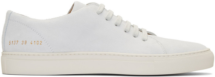 Common Projects Off White Suede New