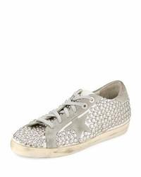 Golden Goose Superstar Old Studded Low Top Sneaker White