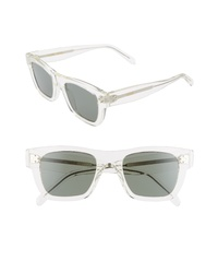 Celine 51mm Rectangle Sunglasses