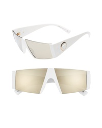 Versace 55mm Shield Sunglasses