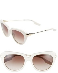 MCQ By Alexander Ueen Stealth 53mm Cat Eye Sunglasses