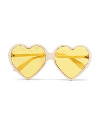 Gucci Heart Shaped Acetate Sunglasses