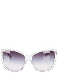 Dolce & Gabbana Lace Cat Eye Sunglasses