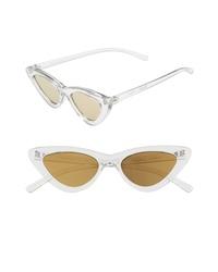 Adam Selman X Le Specs Luxe Lolita 49mm Cat Eye Sunglasses