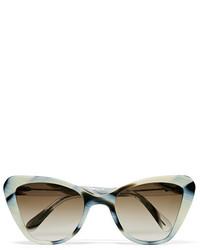 Prism Venice Cat Eye Acetate Sunglasses White
