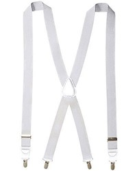Florsheim Clip On Suspenders With Leather Drop Clip 46 Inch
