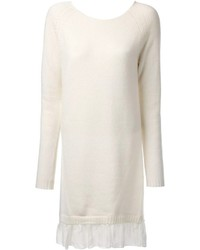 Blugirl Loose Fit Sweater Dress
