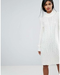 Vila Cable Knit Sweater Dress