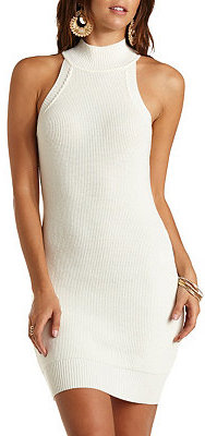 eb81006b525c Charlotte Russe Sleeveless Turtleneck Sweater Dress, $29 | Charlotte ...